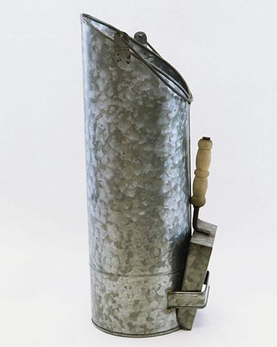 ソリッドグレー ロングバケツ&ダストパンdetail